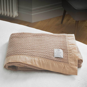 Wool Cellular Reduced Sizes -  - LUXURY BEDDING  from The Wool Company