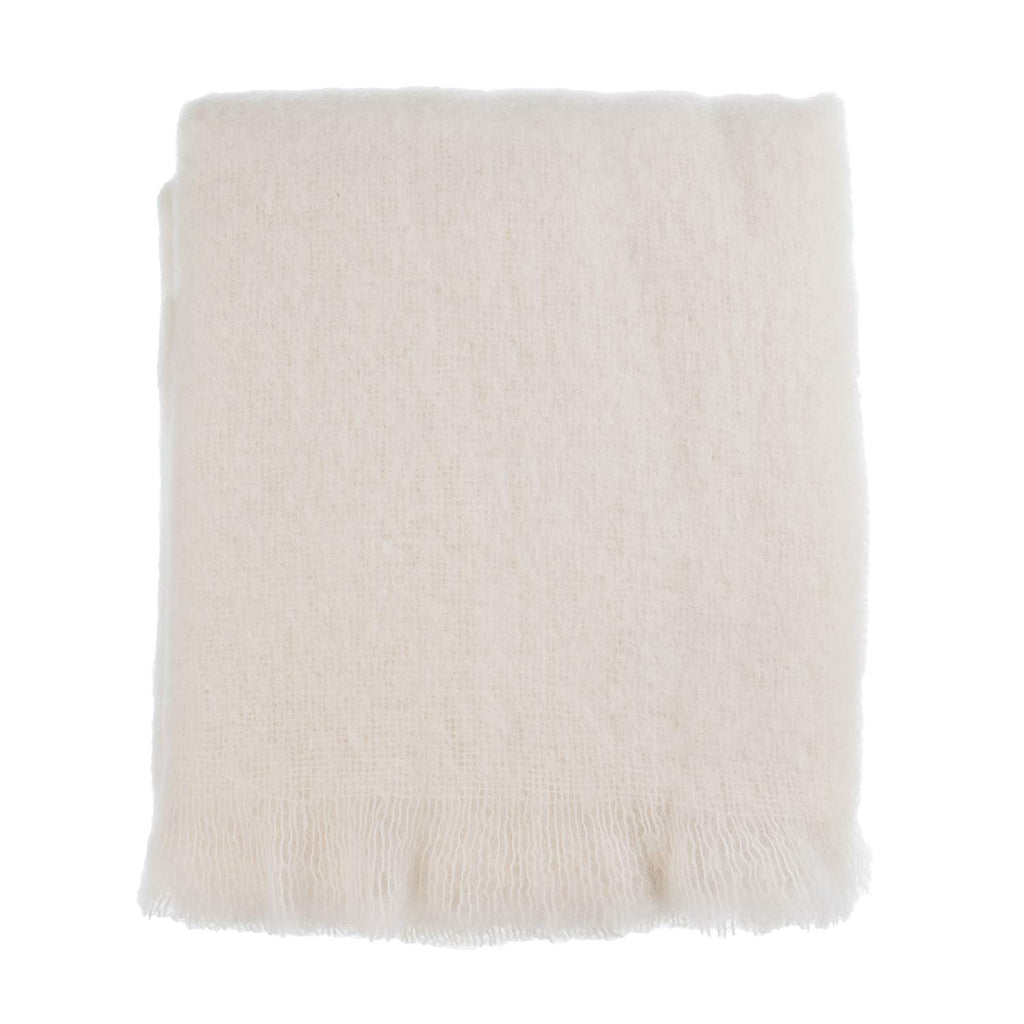 Wool Company Classic Mohair Knee Rug Natural -  - LIVING  from The Wool Company