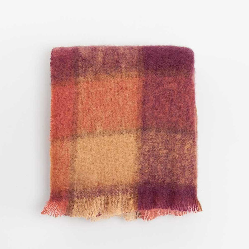 Wool Company Classic Mohair Throw Heather -  - LIVING  from The Wool Company