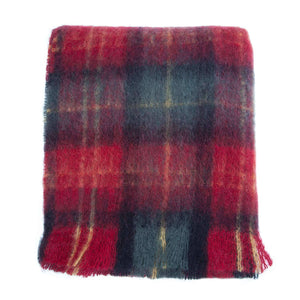 Buy Wool Company Classic Mohair Throw Tartan From The Wool Company Online