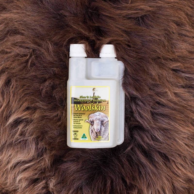 Woolskin Premium Woolwash 250 ml -  - SHEEPSKIN  from The Wool Company