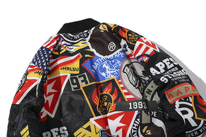 BAPE Graffiti Jacket