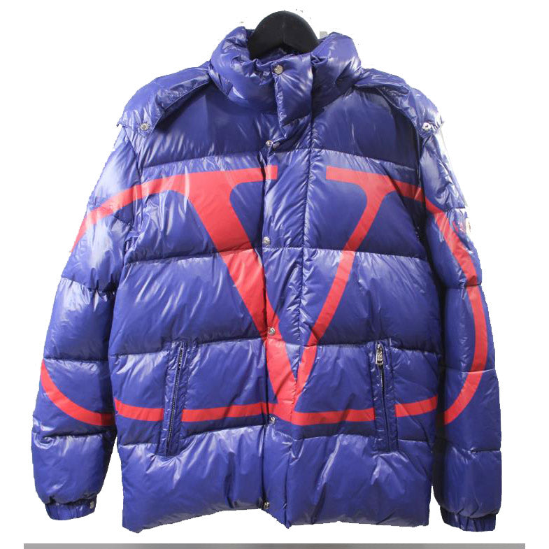 Moncler x Valentino Down Jacket Blue