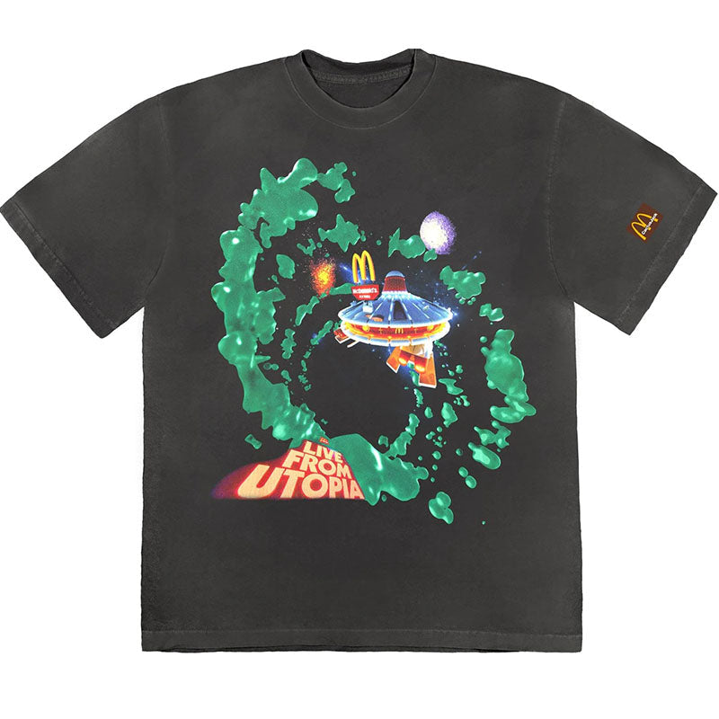 TRAVIS SCOTT CACTUS JACK x McDonald T-Shirt