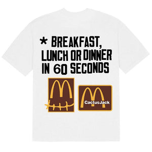 McDonalds x Travis Scott x CPFM T Shirt
