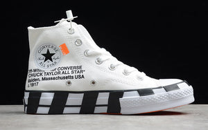 Converse x Off Whie Shoes