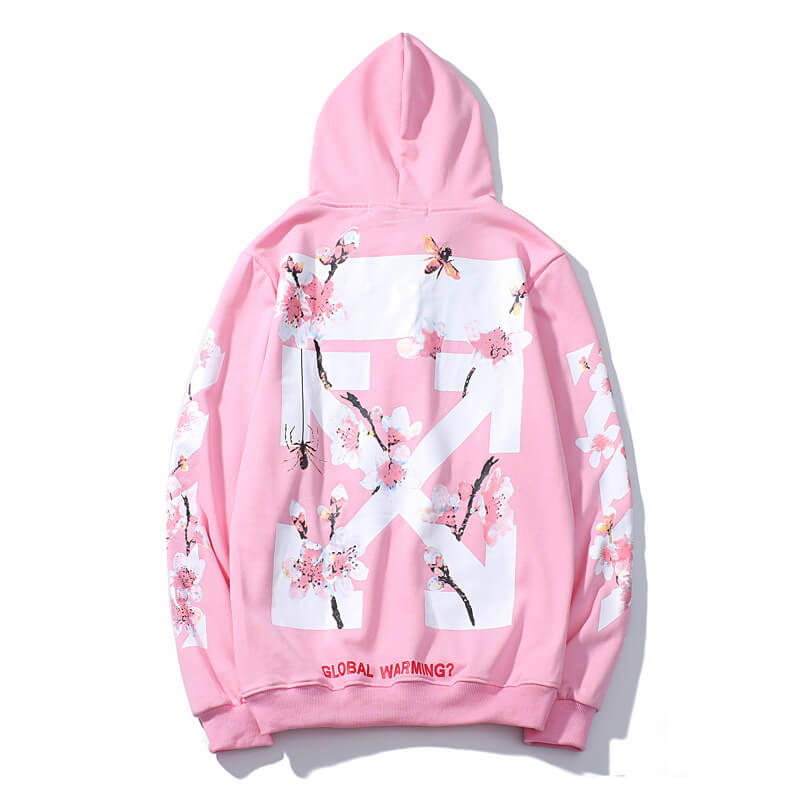 OFF WHITE Cherry Blossoms Hoodie