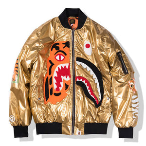 BAPE Gold Jacket
