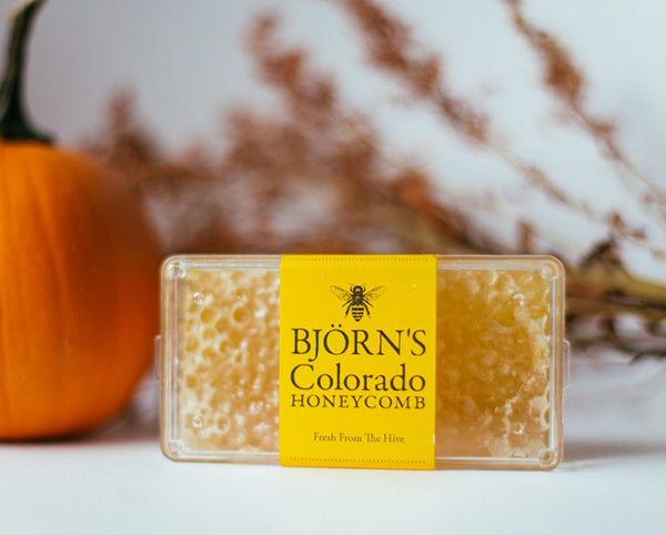 local honeycomb from boulder, colorado