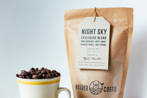 Locally Roasted Coffee By Wander Coffee Company In Fort Collins, Colorado.