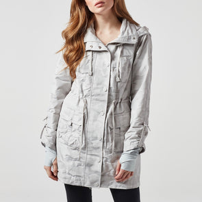 Camo Anorak Jacket Grey