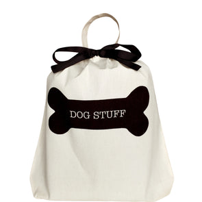 Doggie Travel Bag Durable Natural Canvas