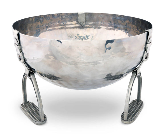 Stirrup Ice Tub Pure Pewter Straps