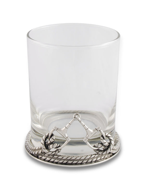 Winner's Court Old Fashioned Glass Snaffle Bit
