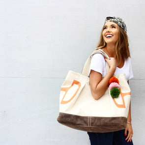 Hardy Bit Tote - Orange