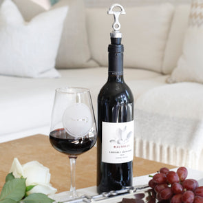 Show Day Wine Stopper Equestrian Barware