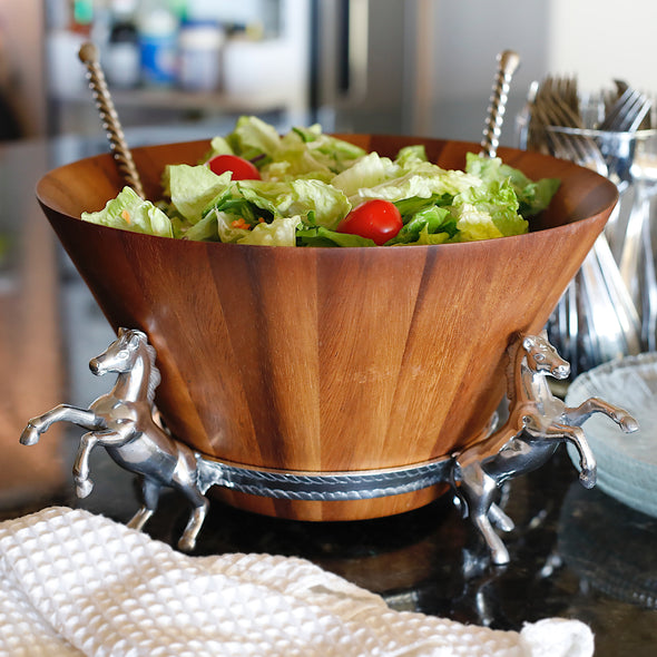 Four In Hand Salad Bowl