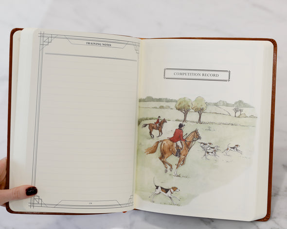 Equestrian Competition Journal Brown
