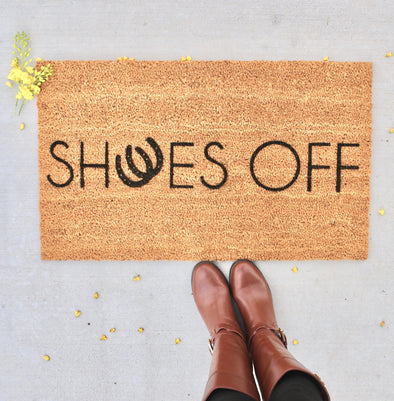 Shoes Off Doormat Home Decor