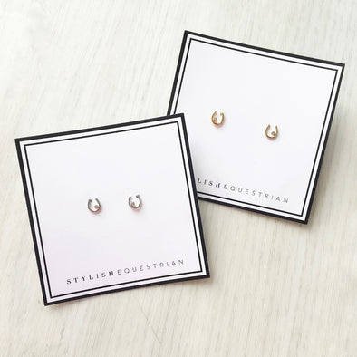 Adley Horseshoe Earrings