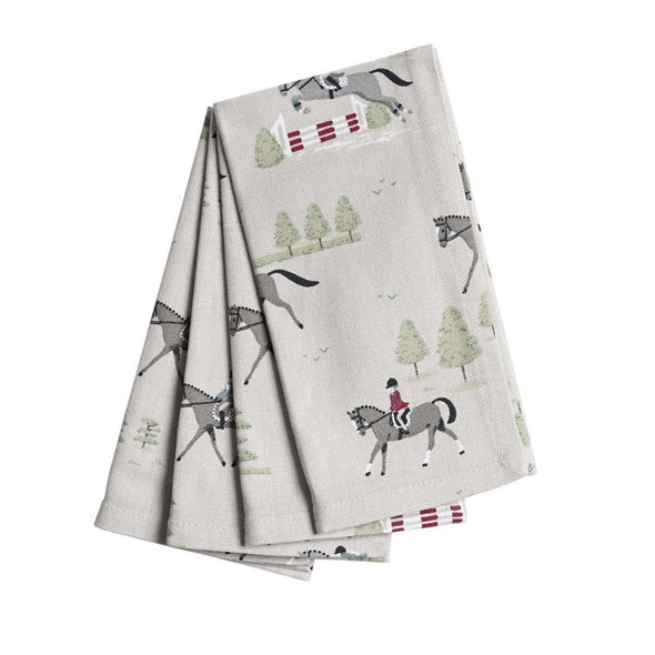 Clemence Napkin Set Equestrian Home Goods