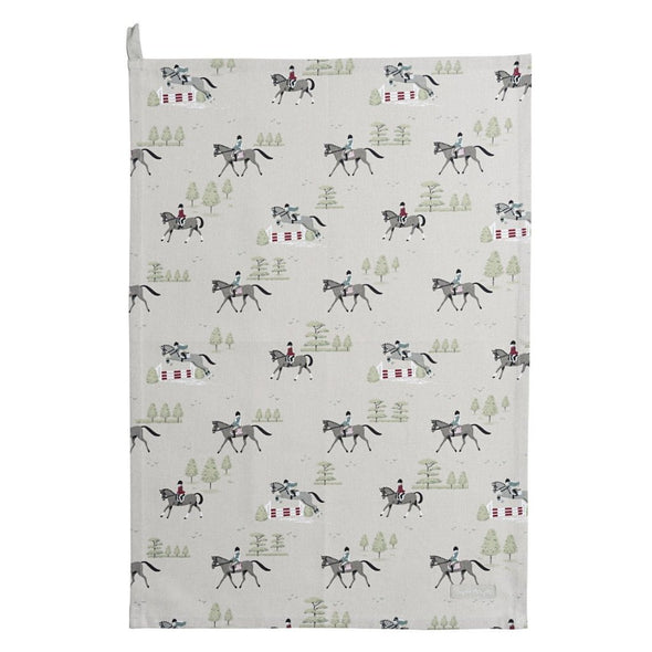 Clemence Tea Towel Equestrian Home Goods