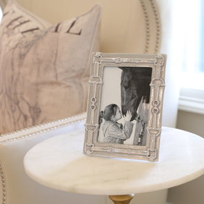 arthur court stylish equestrian silver bridle photo frame