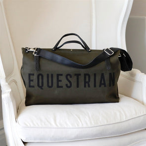 equestrian tote forestbound olive