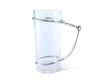 stylish equestrian arthur court bit glass pitcher