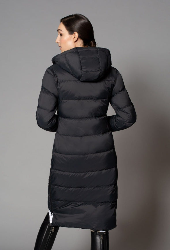 noel asmar everest long down jacket black