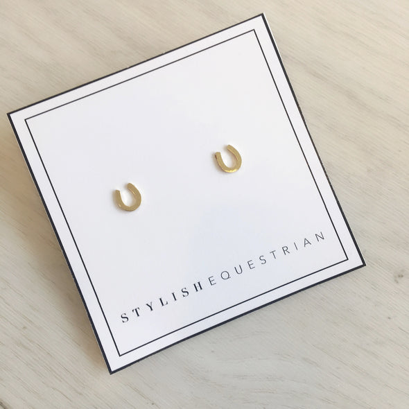 Good Luck Earrings Gold