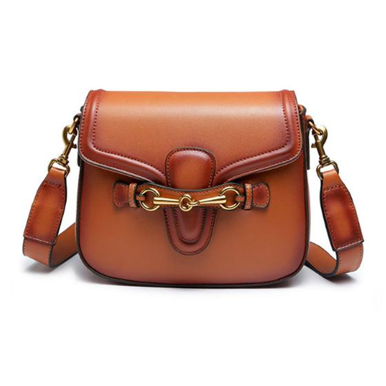 Equestrian Horse Bit Crossbody Bag Vegan Leather