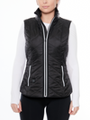 blanc noir heat smart vest black