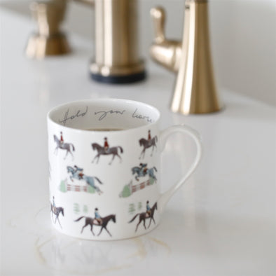 Hold Your Horses Mug Fine Bone China