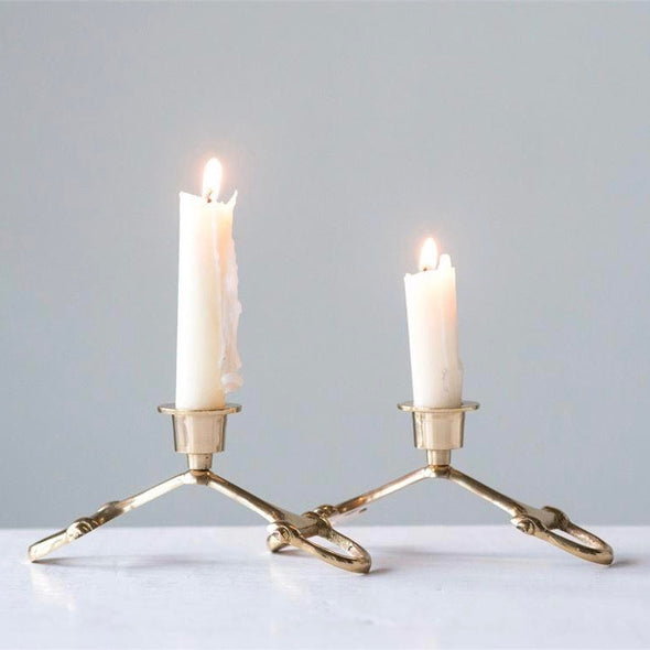Horse Bit Candle Holder Equestrian Home Decor
