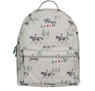 Horses Oilcloth Backpack Back To School