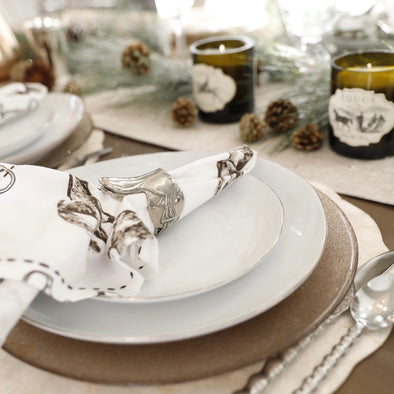 In The Saddle Napkin Ring