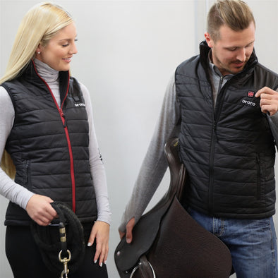 Men's Heated Vest Equestrian Style