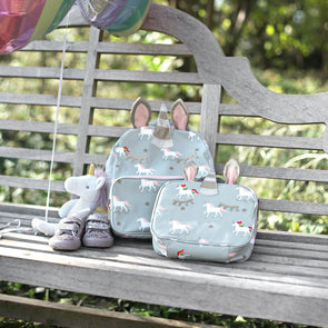 Unicorn Oilcloth Lunchbox