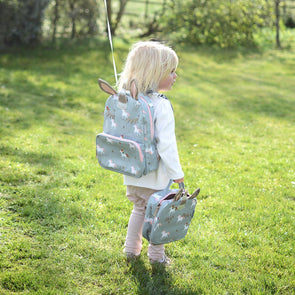 Unicorn Matte Oilcloth Backpack