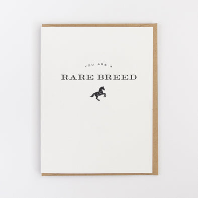 Rare Breed Card