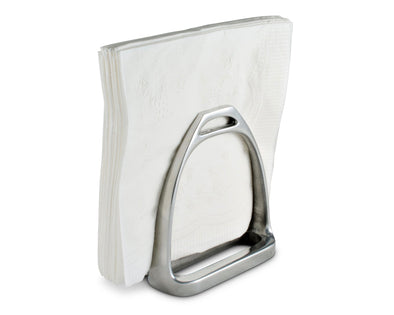 arthur court stirrup napkin holder