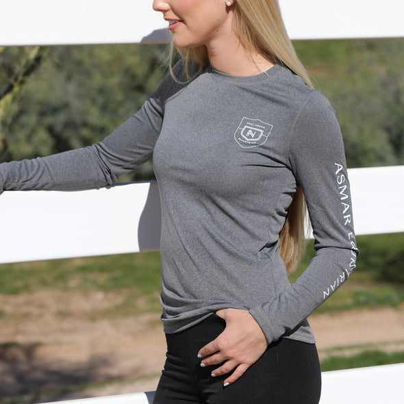 Sustainable Logo Top Grey