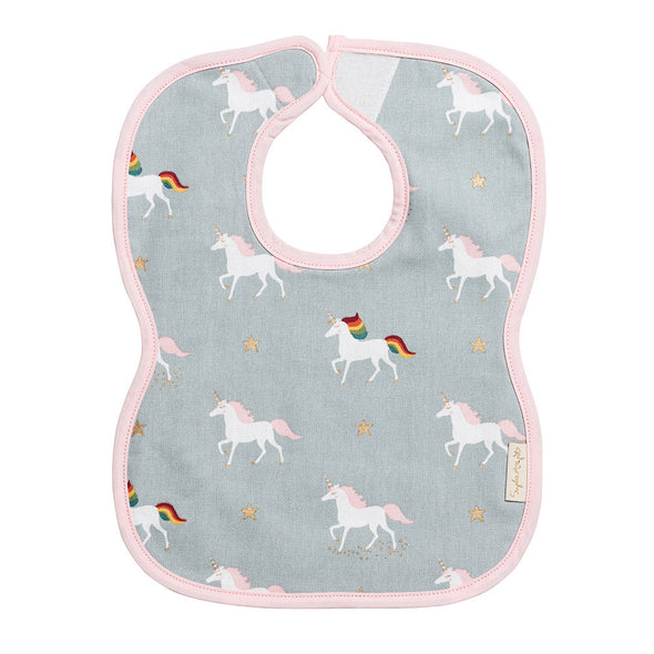 Unicorn Bib Terry Toweling