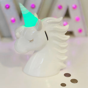 Unicorn Bank Color Changing Horn