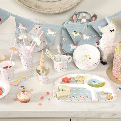 Unicorn Melamine Set