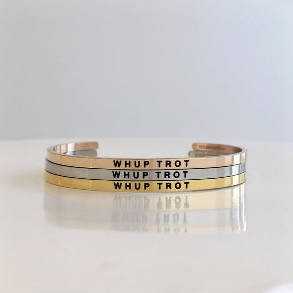Whup Trot Bangle Fashion Jewelry