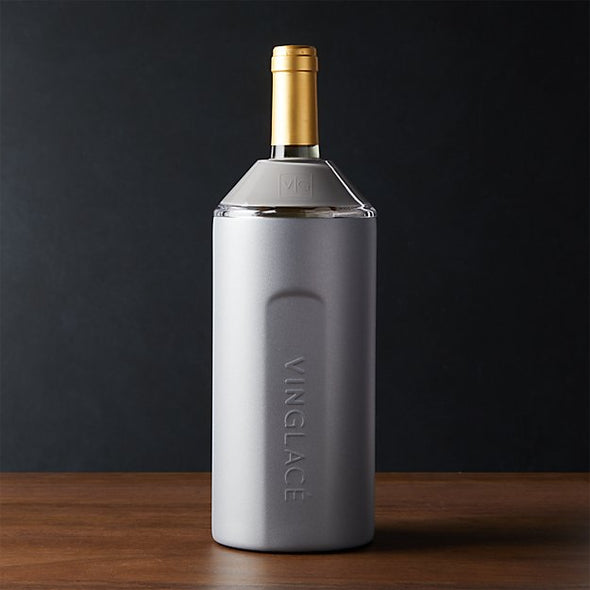 Graphite Stainless Steel Wine Chiller