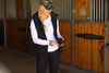 ororo womens heated down vest black