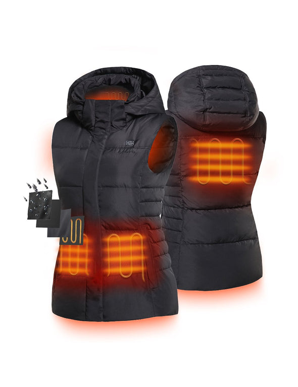 Women's Lightweight Insulated Heated Down Vest